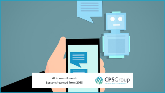 AI in recruitment: Lessons learned from 2018