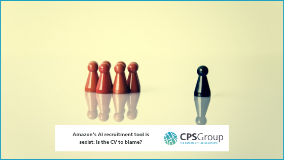 Amazon's AI recruitment tool is sexist: Is the CV to blame?