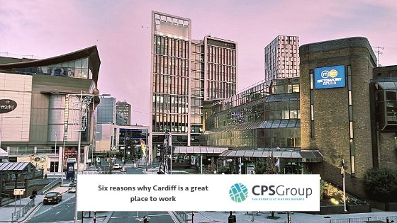 Six reasons why Cardiff is a great place to work