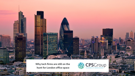 Why tech firms are still on the hunt for London office space