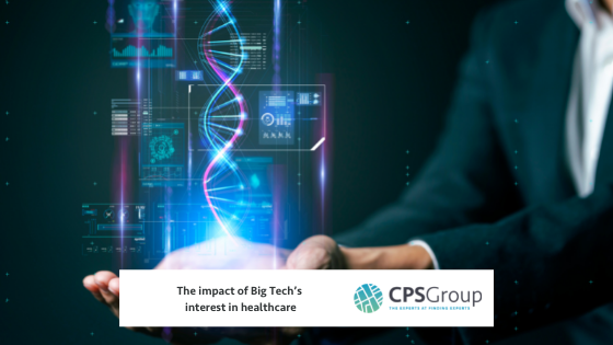 The impact of Big Tech's interest in healthcare