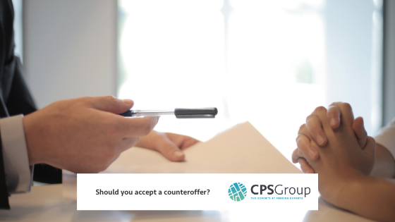 Should you accept a counteroffer?