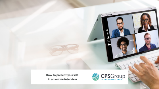 How to present yourself in an online interview