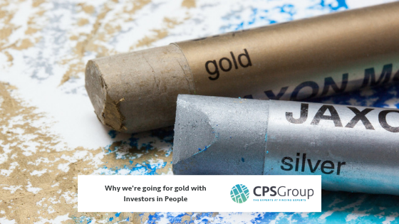 Why we're going for gold with Investors in People