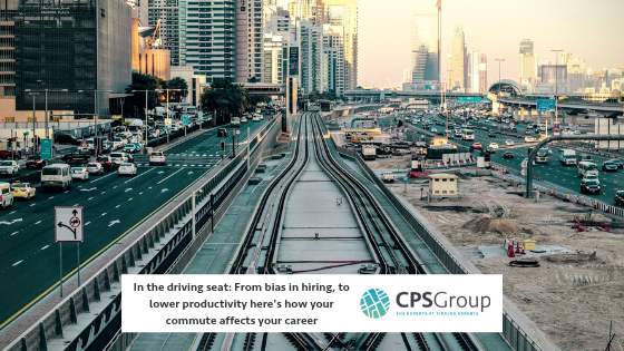 In the driving seat: From bias in hiring, to lower productivity here's how your commute affects your career