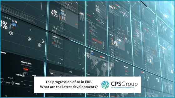 The progression of AI in ERP. What are the latest developments?