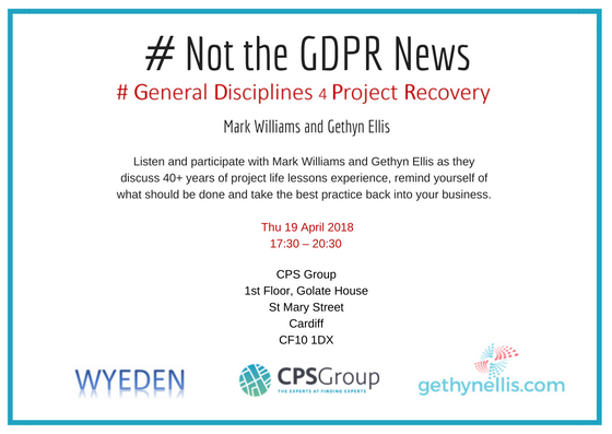 #NOT THE GDPR NEWS