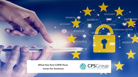 What the first GDPR fines mean for business