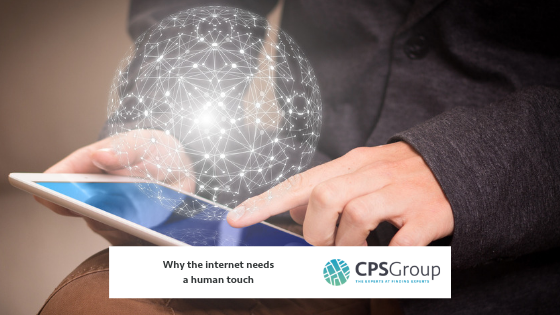 Why the internet needs a human touch