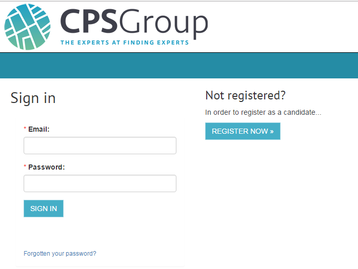 candidate timesheet interface cps group